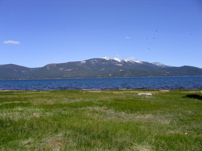 Dyer Mt From West Shore