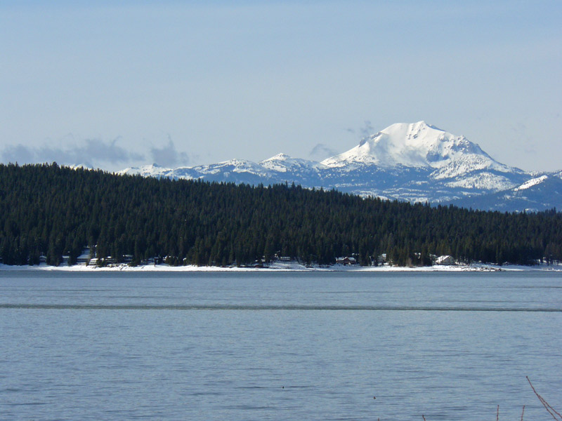 Lake Almanor In The Winter